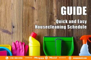 GUIDE: Quick and Easy House Cleaning Schedule