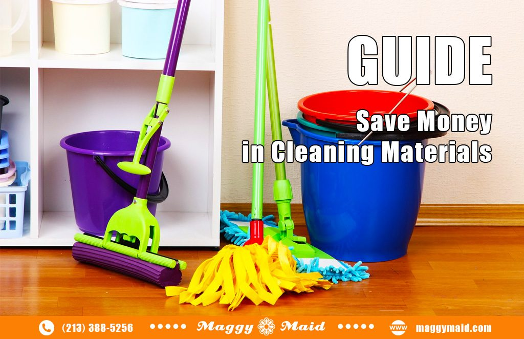 Guide: Save Money in Housecleaning Materials
