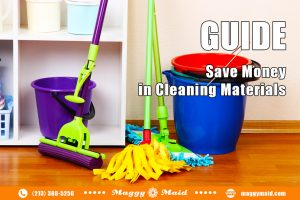 Housecleaning Hack: How to save money with housecleaning materials