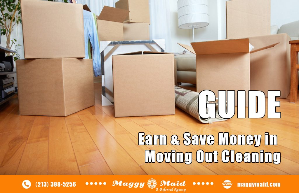 Earn & Save Money in Moving Out Cleaning