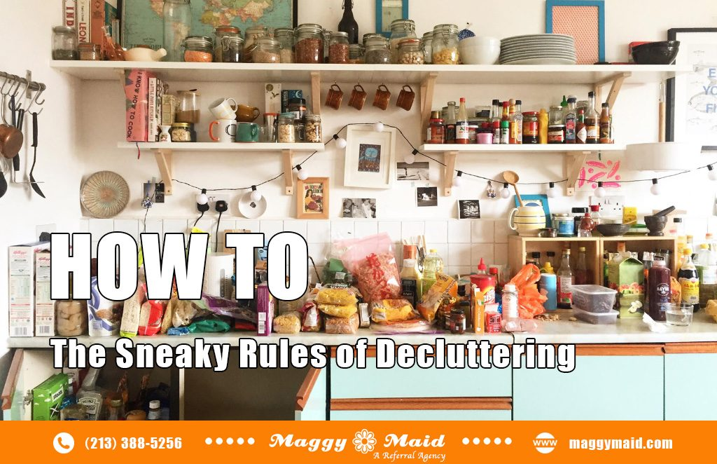 The Sneaky Rules of Decluttering