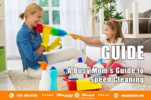 A Busy Mom's Guide to Speed Cleaning