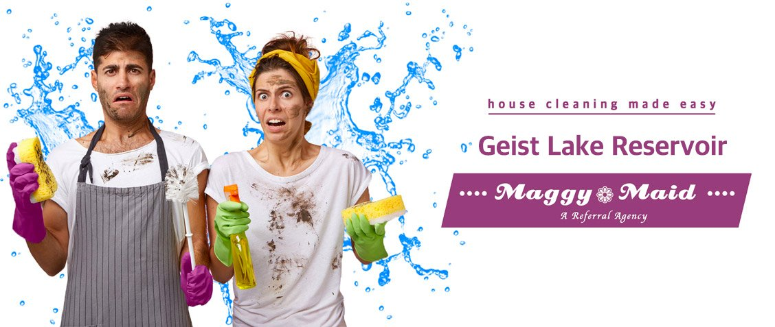 Maggy Maid - House Cleaning Geist Lake Reservoir & Maid Service