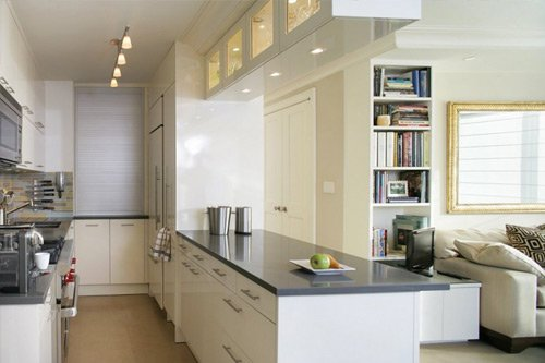 A clean kitchen in Dallas, Texas
