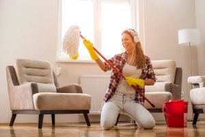 The Fastest Way to Deep Clean a House