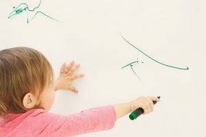 Various Means of Removing Crayon Marks from Walls