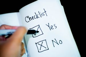 Convenient Daily Checklist for House Cleaning